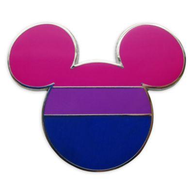Pin Topolino bandiera bisessuale Disney Store