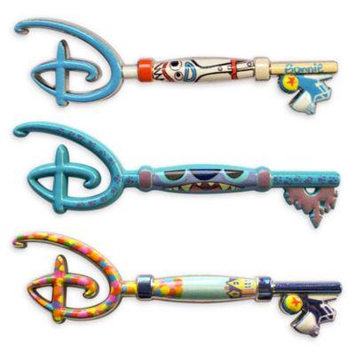 Pin coleccionable misterioso llave, Disney Store (segunda entrega)