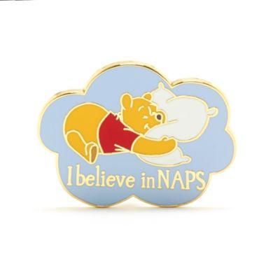"Disney Store Pin's ""I Believe in Naps"" Winnie l'Ourson"