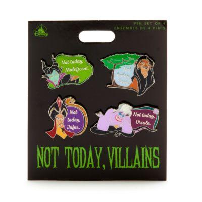 Disney Store Disney Villains Pin Set