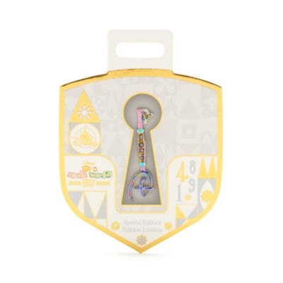 Disney Store It's a Small World 55th Anniversary Opening Ceremony Key Pin
