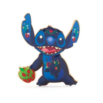 Disney Store Pin's broche Blanche Neige, Stitch Crashes Disney,8sur12