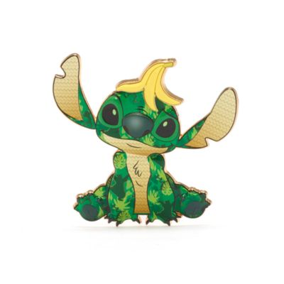 Disney Store The Jungle Book Stitch Crashes Disney Jumbo Pin, 9 of 12