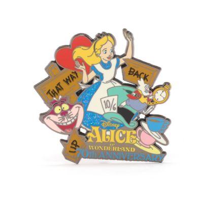 Pin Alice nel Paese delle Meraviglie 70° anniversario Disney Store