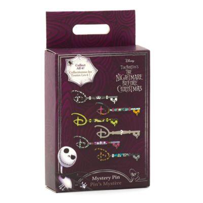 Disney Store Pin's Clé mystère à collectionner L'Étrange Noël de Monsieur Jack