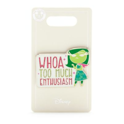 Pin Disgusto Inside Out Disney Store