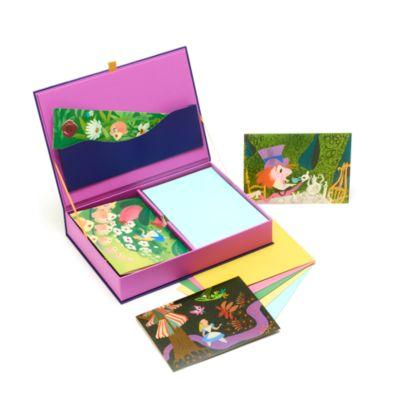 Disney Store Ensemble de cartes de correspondance Alice au Pays des Merveilles, Mary Blair