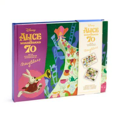 Disney Store Livre Alice au Pays des Merveilles édition limitée Mary Blair
