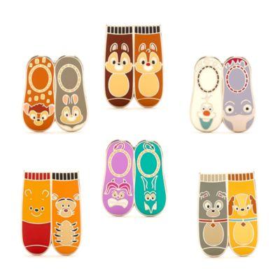 Set pins misteriosos calcetines Disney, Disney Store