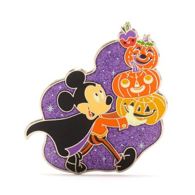 Disney Store - Micky Maus - Halloween-Anstecknadel