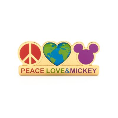Walt Disney World Peace, Love and Mickey Pin
