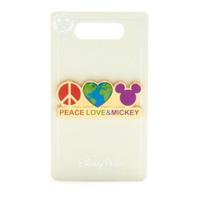 Walt Disney World pin paz, amor y Mickey