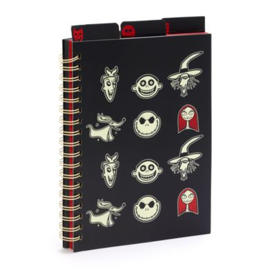 Disney Store The Nightmare Before Christmas A4 Notebook