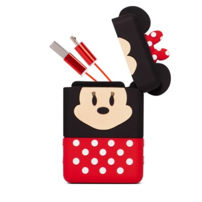Minnie Mouse Retractable Cable