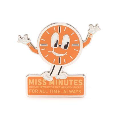 Pin Miss Minutes, Loki, Disney Store