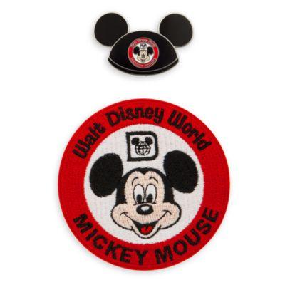 Mickey Mouse Club - Set mit Anstecknadel und Aufnäher zum 50. Geburtstag