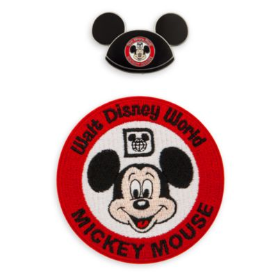 The Mickey Mouse Club 50th Anniversary Pin and Patch Set