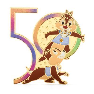 Walt Disney World - Chip & Chap - Anstecknadel zum 50. Geburtstag