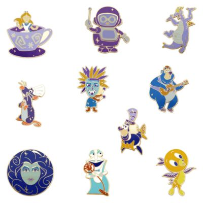 Walt Disney World pins misteriosos 50.º aniversario