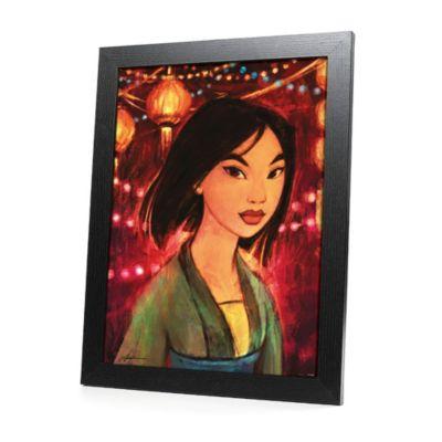 Stampa in cornice Mulan