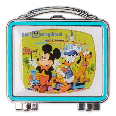 Walt Disney World - Micky und Freunde - Anstecknadel in Form einer Lunchbox zum 50. Geburtstag