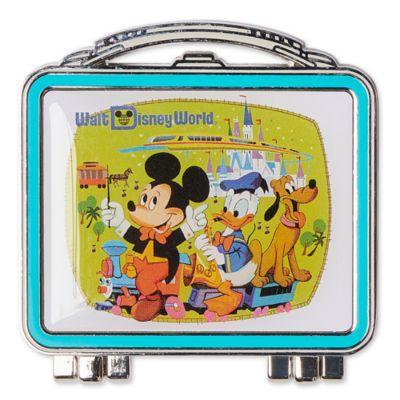 Walt Disney World Pin's Mickey et ses amis en forme de boîte à repas 50eanniversaire