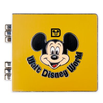 Walt Disney World Mickey Mouse 50th Anniversary Photo Album Pin