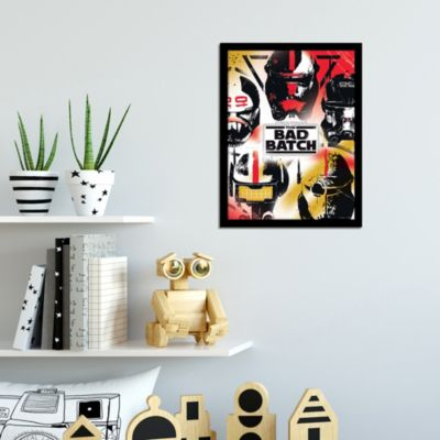 Disney Store Star Wars: The Bad Batch Framed Print