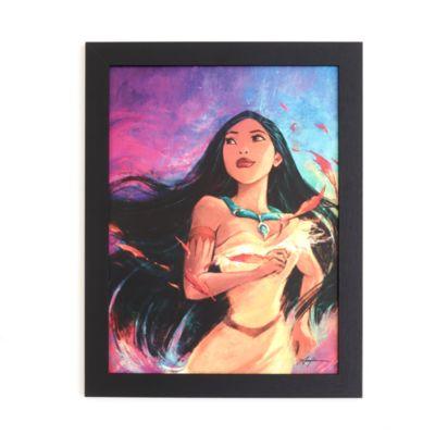 Pocahontas - gerahmter Druck