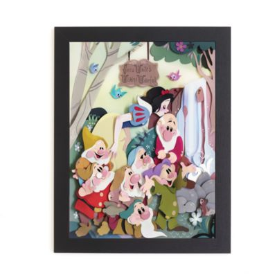Snow White and the Seven Dwarfs Framed Print