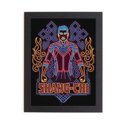 Shang-Chi and the Legend of the Ten Rings - Gerahmtes Druckmotiv