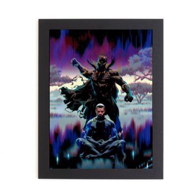 Póster enmarcado Black Panther, Disney Store