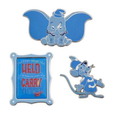 Juego de pines Dumbo, Disney Wisdom, Disney Store (1 de 12)