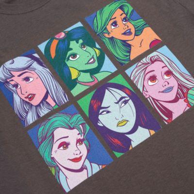 Disney Princess Pop Art Customisable T-Shirt For Adults