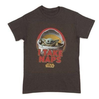 Grogu 'I Take Naps' Customisable T-Shirt For Adults, Star Wars