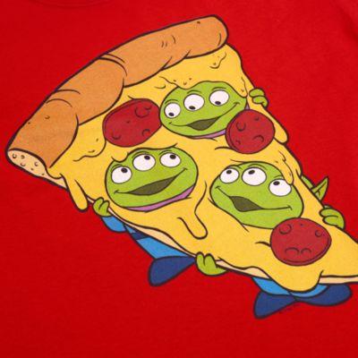 Aliens Pizza Customisable T-Shirt For Kids