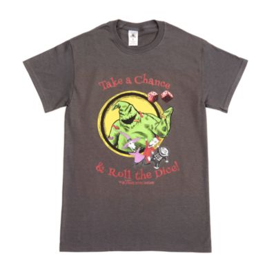 Oogie Boogie, Lock Shock and Barrel Customisable T-Shirt For Adults