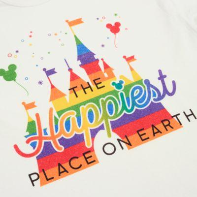 Fantasyland Castle Rainbow Customisable T-Shirt For Adults