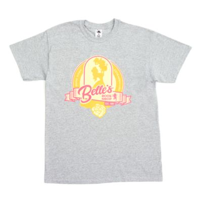 Belle's Book Shop Customisable T-Shirt For Kids, Beauty and the Beast