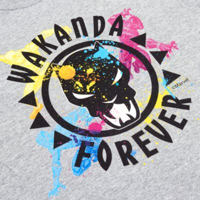 Black Panther Customisable T-Shirt For Kids