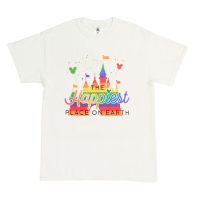 Fantasyland Castle Rainbow Customisable T-Shirt For Kids