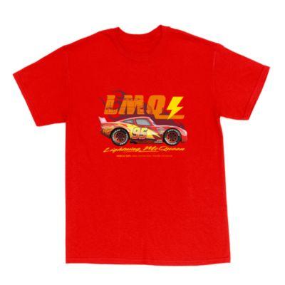 Lightning McQueen Classic Customisable T-Shirt For Adults, Disney Pixar Cars