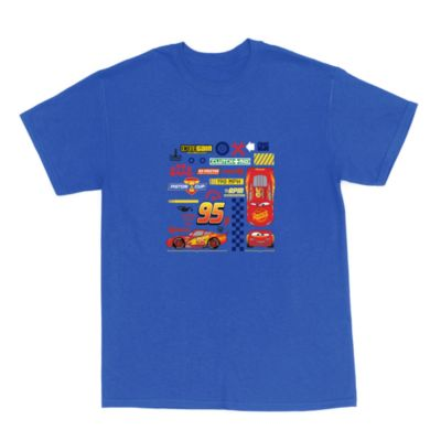 Lightning McQueen Customisable T-Shirt For Adults, Disney Pixar Cars