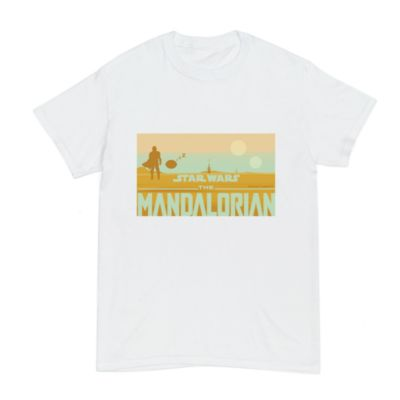 Star Wars: The Mandalorian Customisable T-Shirt For Adults