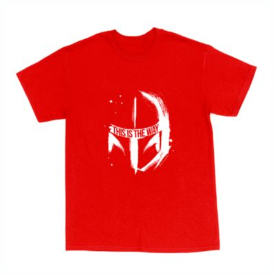 The Mandalorian 'This is the Way' Helmet Customisable T-Shirt For Kids