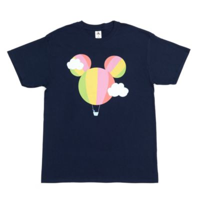 Mickey Mouse Hot Air Balloon Customisable T-Shirt For Kids