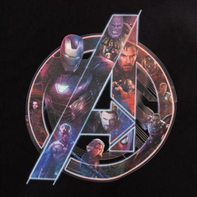 Avengers Character Logo Customisable T-Shirt For Kids