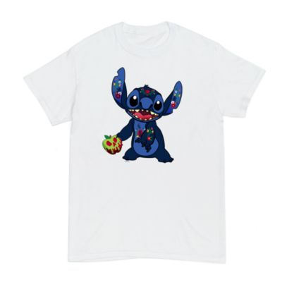 Disney Store Snow White Stitch Crashes Disney Customisable T-Shirt For Adults, 8 of 12