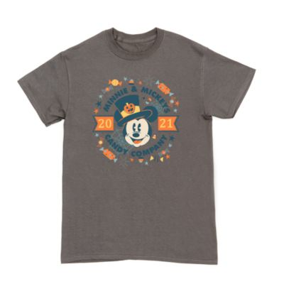 Mickey Mouse Candy Company Halloween Customisable T-Shirt For Adults