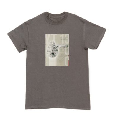 Millennium Falcon Customisable T-Shirt For Adults, Star Wars
